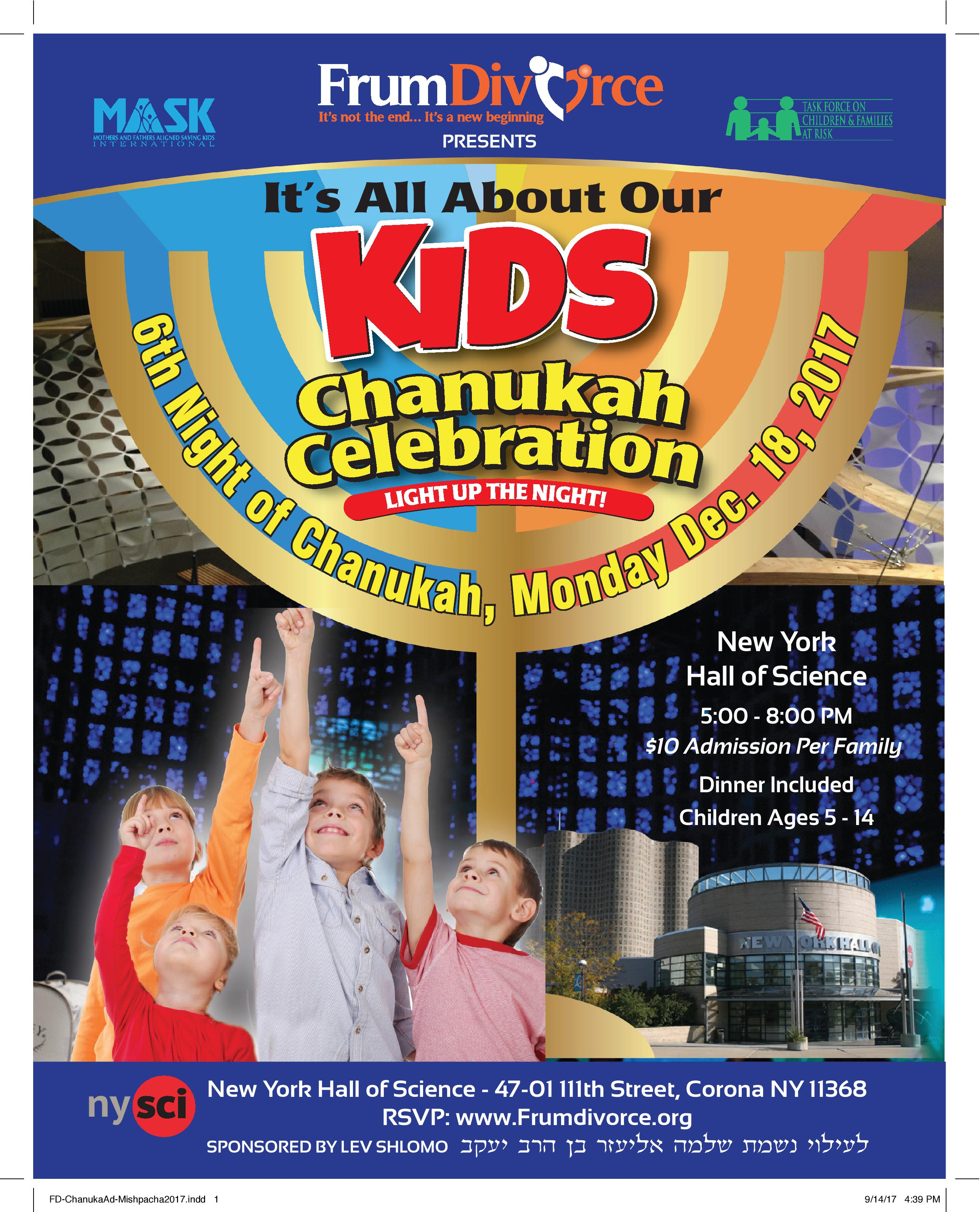 4th Annual Chanukah Celebration - SOLD OUT