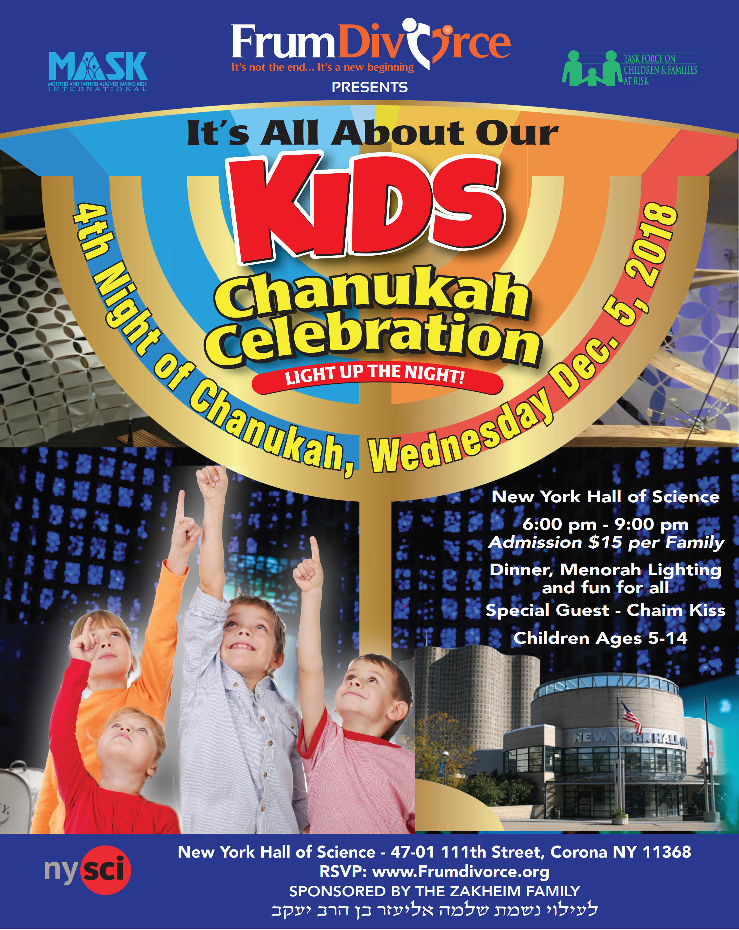 Chanukah Celebration: It's All About Our Kids!